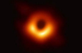 Spotlight: First image of a black hole named Science's Breakthrough of the Year