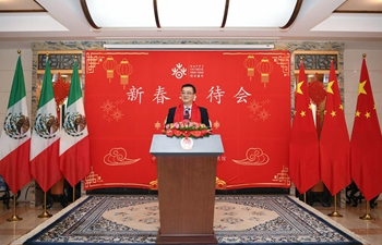 Reception celebrating Chinese Lunar New Year held in Mexico City