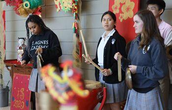 U.S. high school celebrates Chinese New Year
