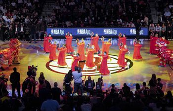 Brooklyn Nets hosts Chinese culture night in New York