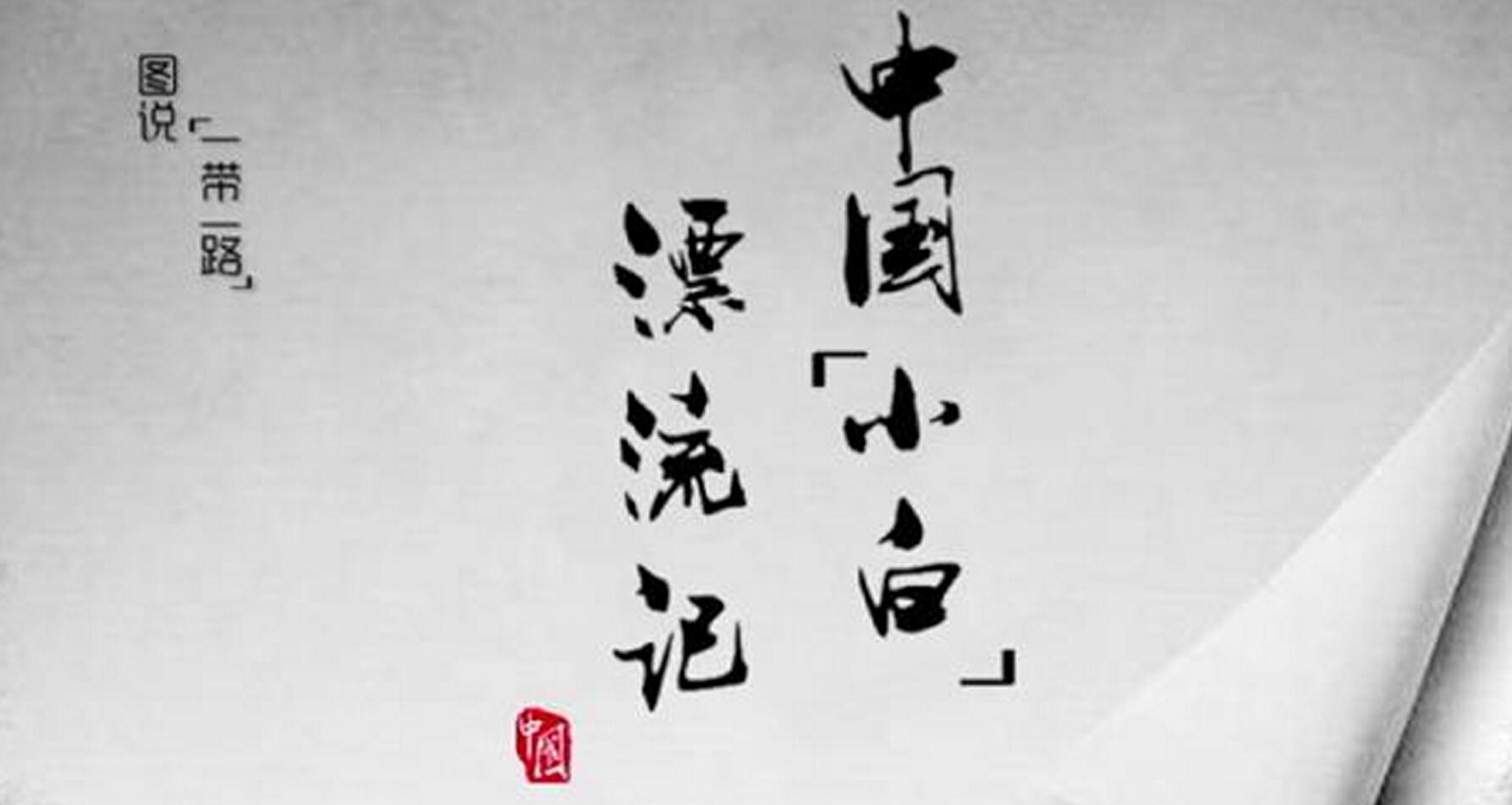 """中国""""小白""""漂流记"""