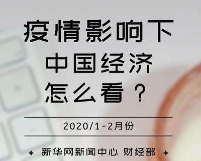 【一圖讀懂】疫情影響下,中國經濟怎麼看?