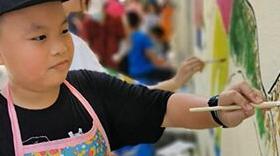 廣東中山:小手拉大手 煥發老街新活力