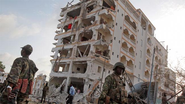 索馬裏一酒店遭襲擊 有中方人員在爆炸中傷亡