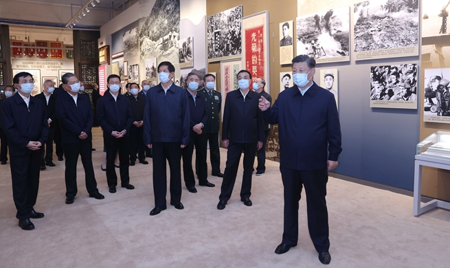 Xi Focus: Xi stresses carrying forward China's volunteers army's spirit in War to Resist U.S. Aggression and Aid Korea