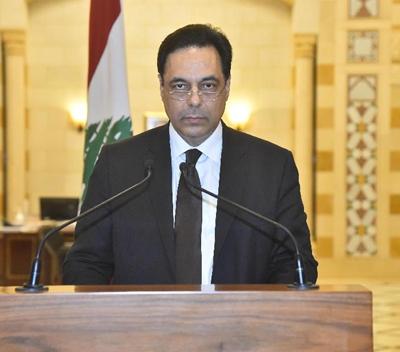 貝魯特港口爆炸 黎巴嫩總理宣布政府集體辭職