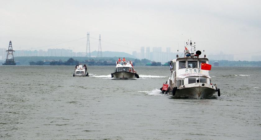 打擊長江流域非法捕撈 高發水域同步巡查執法