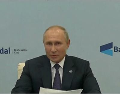 俄總統普京呼吁納卡衝突各方盡快停火
