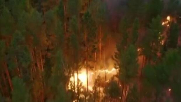 西伯利亞頻現高溫 山火肆虐