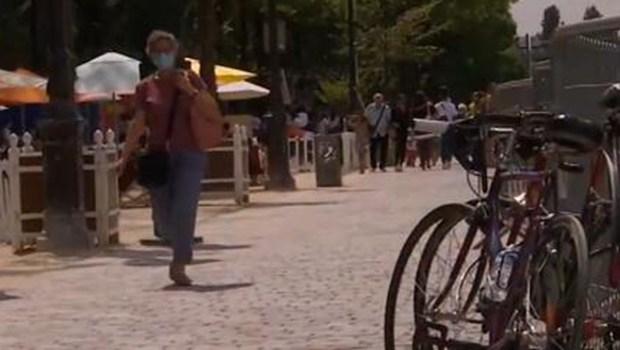 法國多個城市強制民眾在室外佩戴口罩