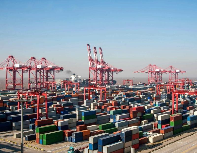 上海港7月集裝箱吞吐量創新高