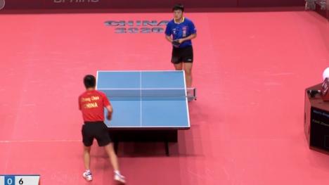國乒奧運模擬賽 樊振東強勢晉級