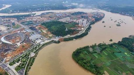 水利部:長江下遊幹流大通江段水位退至警戒水位