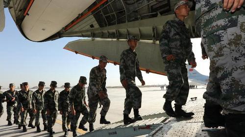 """陸軍參加""""國際軍事比賽-2020""""人員全部抵達俄羅斯"""