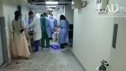 世衛組織:貝魯特超半數醫療機構無法運轉