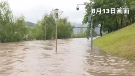 四川宜賓:入汛最大洪峰過境 水位近8年最高